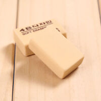 2/10Pcs Soft Rubber Drawing Art  Writing Eraser Wiper Cleaner Stationery Supply
