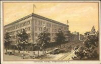 Washington DC National Hotel c1920s-30s Postcard