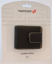 NEW GENUINE TomTom ONE Leather Carrying Case BLACK 140S 130S 125 EASE Start2