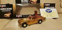 Corgi 96445 James Bond - GOLD Aston Martin DB5 (Goldfinger) Ltd Edit MINT