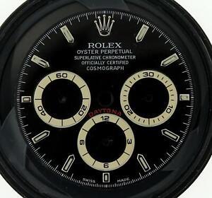 Original Rolex 16520 Black Dial for Zenith Daytona Rare Late 90s Swiss Made