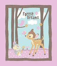 "1 Springs Disney Bambi ""Woodland Dreams"" Fabric Panel"