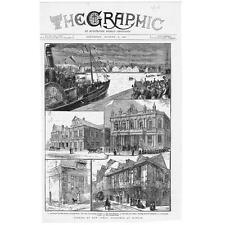 Trova sia-antica stampa 1881-apertura di nuovi edifici pubblici
