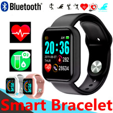 Waterproof Bluetooth Smart Watch Phone Mate Fitness Watch For Android Universal*