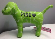 VICTORIA'S SECRET 2011 PELOTONIA PINK  DOG IN GREEN NEW