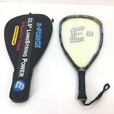 """E-Force 32.5"""" Judgement 195g Racquetball Racquet Racket Longstring Power w Case"""