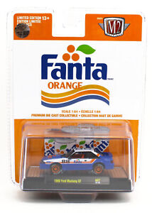 1:64 M2 Machines *FANTA ORANGE COKE A07* 1988 Ford Mustang GT *CHASE CAR* NIP