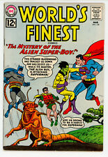 JERRY WEIST ESTATE: WORLD'S FINEST COMICS #124 (DC 1962) FN condition NO RES