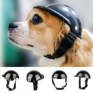 Motorcycle Safety Helmet Glasses For Pet Cat Dog Puppy Protect Bike Accessories