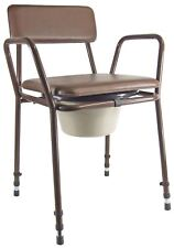 Aidapt Essex Height Adjustable Commode Chair VR161