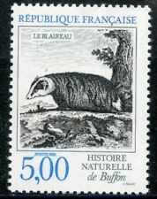 STAMP / TIMBRE FRANCE NEUF N° 2542 ** FAUNE / BLAIREAU