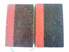histoire MARECHAL CANROBERT 1898 2 volumes envoi auteur à Fornas Daguilhon Pujol