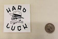 Jason Jesse Hard Luck Skateboarding Sticker! Rare! Mike Giant! Santa Cruz!