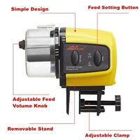 Automatic Fish Feeder Aquarium Tank Auto Fish Food Timer Adjustable   F F K