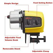 Automatic Fish Feeder Aquarium Tank Auto Fish Food Timer Adjustable   F F