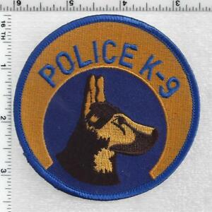 New Orleans Police K-9 Unit (Louisiana) 1st Issue Shoulder Patch