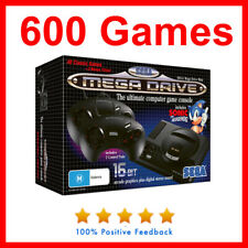 NEW Genuine Sega Mega Drive classic mini Console With 600 games