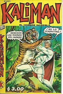 Kaliman El Hombre Increible #739- Enero 25, 1980 - Mexico