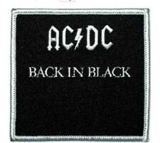 "ACDC AC/DC Band Patch Iron On Patch 3"" x 3"" Rock Band Free Ship P-0533"