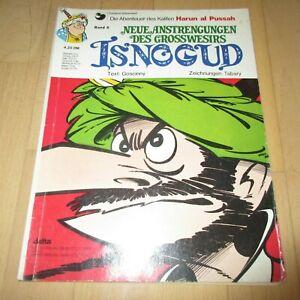 Isnogud Nr. 6, 1. Auflage von 1977 in gutem bis mittlerem Zustand.