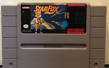 Star Fox Super Nintendo SNES Game Cleaned Tested Authentic