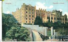 ts 162 1904 TRIESTE Ospitale militare - viagg. FP -