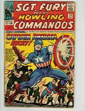 Sgt. Fury and His Howling Commandos #13 (GD/VG) #22 (FN/VF) - 2 Book Lot