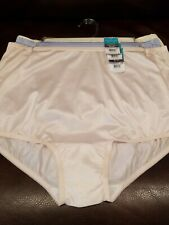 Size 3XL//10 Bali Double Support  Hi Cuts Panty #DFDBH3 3-pack