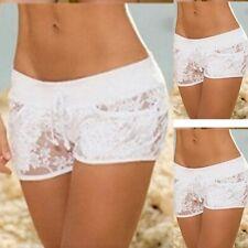 Women Underwear Soft Panties Boxer Briefs Boyshorts Lace Shorts Panty Knickers