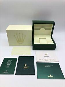 Rolex Genuine Datejust Ⅱ watch box case 39137.02 Small Booklet Card case 1016002