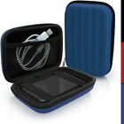 Universal Hard Case Cover Pouch for Portable External Hard Drives (Multi Sizes)
