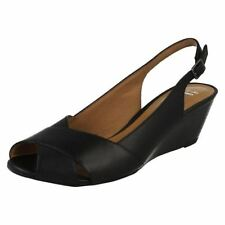 Clarks Slingbacks No Pattern Sandals & Beach Shoes for Women