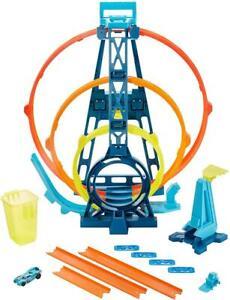 Hot Wheels GLC96 Track Builder Unlimited Looping Set Spielzeug Auto Rennbahn
