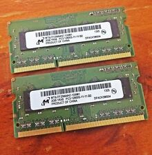 NEW 4GB (2x 2GB) DDR3 1600Mhz SO-DIMM 204 Pin Toshiba HP Dell Acer ASUS Laptop