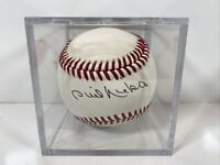 PHIL NIEKRO autographed signed baseball Atlanta Braves Hall Of Fame Pitcher