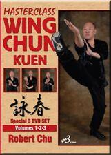 Wing Chun Kuen VOL. 1-2-3 DVD Set - by Robert Chu