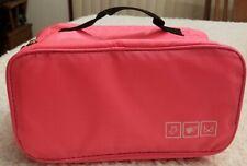 Women Travel Underwear Lingerie Organizer Bra Makeup Cosmetic Storage Pouch Bag