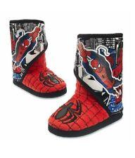 Disney Superhero Spiderman Unisex Boot Slippers Size 9/10 Shoes (Kids) Brand New