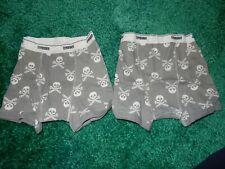 Nwot Size Xs 3-4 4 Gymboree Boy Skeleton Skull Crossbones Boxer Briefs Underwear