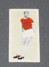 FOOTBALL FLEETWAY TIGER CARD 1963 DAVID HERD MANCHESTER UNITED RED DEVILS