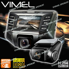 Dual Dash Camera In Car Twin Cam B70S Plus NTK 96655 Crashcam Blackbox 1080P