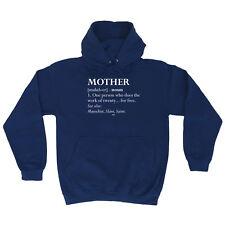 Funny Novelty Hoodie Hoody hooded Top - Mother Noun