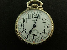 Grade 616 Montegomery Dial Serviced Vintage 16 Size Elgin Pocket Watch