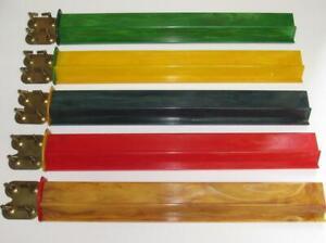 (5) Vintage Mah Jong Bakelite/Catalin Racks/Trays 1940-50s Marbleized & Showy!