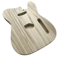 Unfinished DIY Electric Guitar Barrel Body Polished Maple for TL Style Guitar
