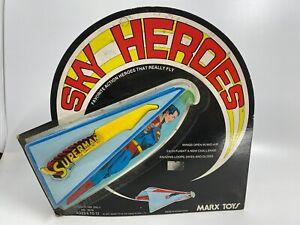 1977 MARX SUPERMAN SKY HEROES MOC - UNUSED