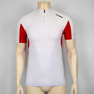 Adidas Porsche Design P. A. '5000 Men Cycling Top Men's Bike Jersey White/Red