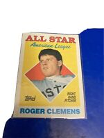 ROGER CLEMENS BOSTON RED SOX AMERICAN LEAGUE ALL STAR #394 - TOPPS 1988