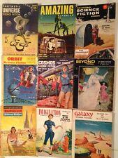 Early PHILIP K DICK 9 1954 SF Sci Fi Lot Simak Sheckley Farmer Asimov Silverberg