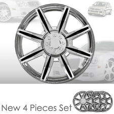 """NEW 14"""" ABS CHROME WHEEL RIM HUBCAPS COVER 541 FOR VW"""